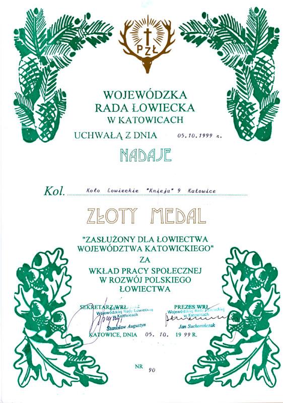 1999-zloty-medal