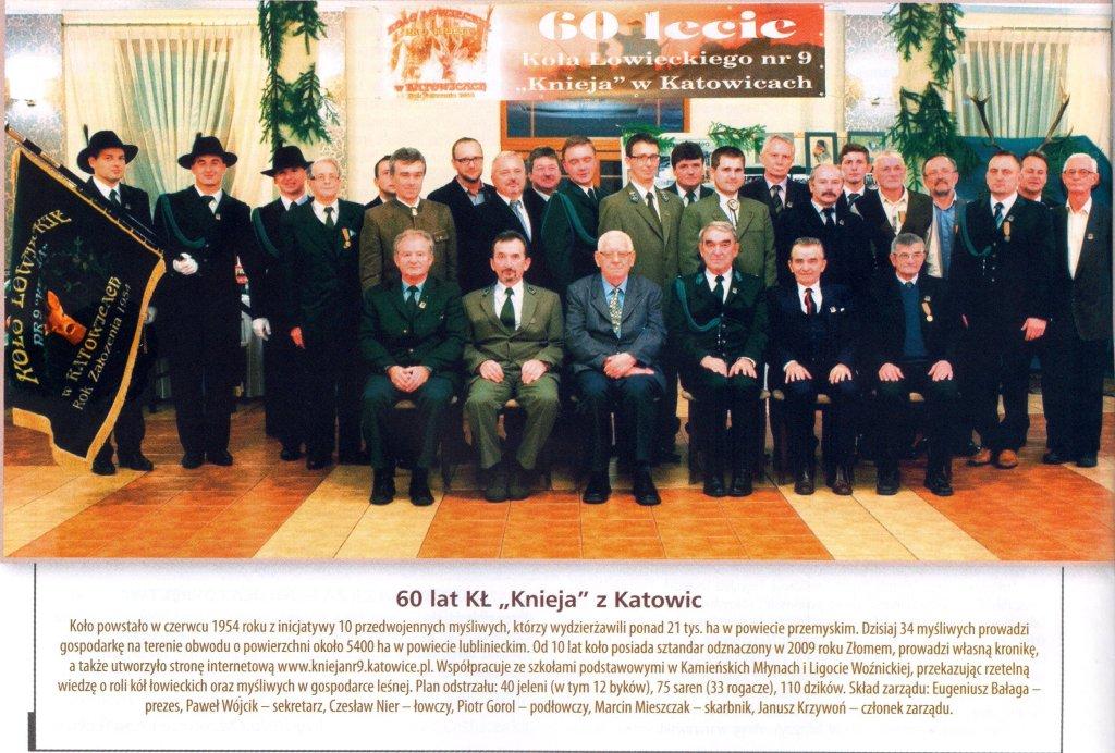 Łowiec Polski - lipiec 2015 - notatka z 60-lecia Koła